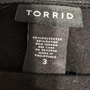 torrid Tops - Torrid animal print raglan sleeve t-shirt 3x